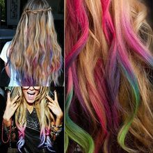 6 pieces/set Hair Chalks Multi-color Temporary Party Special Makeup Hair Color Hair Chalk Disposable Hair Extension Dye //FREE Shipping Worldwide //