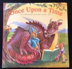 Once Upon A Time Treasury Of Fairy Tales Hardcover Book Gift  | Books, Children & Young Adults, Other Children & Young Adults | eBay!