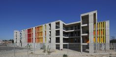 Colegio San Andres 2 / Gubbins Arquitectos Celosías
