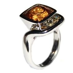 Imperial Topaz Ring.  I have seen this ring before, and I think it's beautiful!