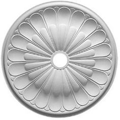 Ekena Millwork�31.625-in x 2.635-ft x 1.875-in Primed Interior Polyurethane Ceiling Medallion Accent
