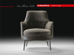 Salone 2014   Exclusive preview The new #armchair FLEXFORM GUSCIO SOFT is an accommodating and generous variation on the original product. Designed by Antonio Citterio. Find out more on www.flexform.it