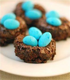 INSPIRATION - Idée de présentation pour un dessert de Pâques gourmand : les…