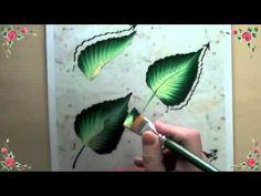 Comment peindre une fleur avec la méthode One stroke ?   Amylee