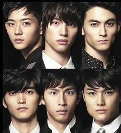 Sota Fukushi. MEN ON STYLE 2014 [Member] Ryo Ryusei, Sota Fukushi, Tasuku Nagase, Ryosuke Yamamoto, Tomohiro Ichikawa, Jingi Iriei
