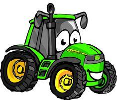 "Képtalálat a következőre: ""tractor cartoon clipart"" Cute Cartoon Pictures, Cartoon Pics, Tractor Clipart, Tractor Pictures, Sketchbook Drawings, John Deere Tractors, Clips, Cute Tattoos, Caricature"