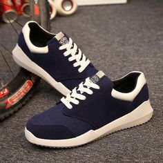 Find More Men's Casual Shoes Information about 3 Color New style Autumn breathable men Casual shoes fashion low lace up canvas Shoes men's outdoor casual flat shoes,High Quality shoe candy,China sneaker wedge Suppliers, Cheap sneaker shoes men from Fashion Boutique Discount Stores on Aliexpress.com