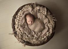 One little Peanut! #newborn #photography