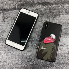iphoneX ケース シュプリーム supreme ブランド アイフォン8 携帯カバー iphone7 オシャレ ストリート系 カッコイイ カップル ペア物
