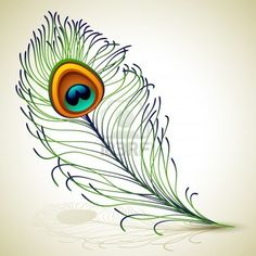 Illustration about Vector illustration - peacock feather, EPS RGB. Use transparency and blend modes. Illustration of decor, green, plumage - 26151734 Peacock Feather Tattoo, Feather Vector, Feather Art, Peacock Vector, Peacock Images, Peacock Photos, Vector Clipart, Vector Art, Images Noêl Vintages