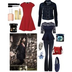 """Clara inspired"" by thegirlwhono-oneknows on Polyvore"