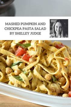 Looking for a healthy, vegetarian meal alternative? Why not try making Angelo's Pasta's feature foodie, Shelley Judge's Mashed Pumpkin with Chickpea Pasta Salad recipe? Delicious and nutritious this is a salad that will feed the entire family and have them going back for seconds.