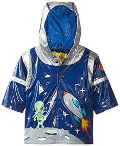 Kidorable Little Boys' Space Hero All Weather Waterproof Coat   Best Of Kids Zone