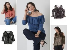 Choose Your Favorite Your Favorite, Ms, Ruffle Blouse, Women, Fashion, Curves, Clothing, Moda, Fashion Styles