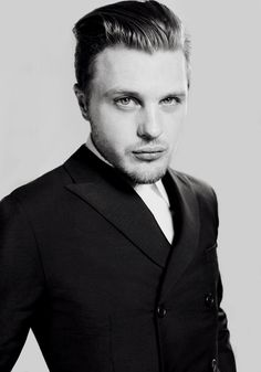 Michael Pitt, photography by Camilla Tisi, 2012