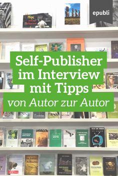 Schon gesehen? Von Zeit zu Zeit interviewen wir epubli-Autoren, um sie besser kennenzulernen und hilfreiche Tipps für andere Autoren zu erfahren. Viel Spaß beim Stöbern! http://www.epubli.de/blog/kategorie/erfolgsgeschichten #epubli #autor #interview #erfolgsgeschichten #selfpublishing #schreibtipps #buchmarketing