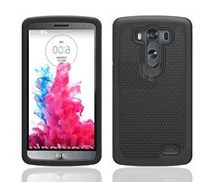 myLife Shinigami Black {Classy Textured Design} 2 Piece Hybrid Reflex Case for the LG G3 Smartphone (Outer Rubberized Fit On Protector Shell + Internal Silicone SECURE-Grip Bumper Gel) myLife Brand Products http://www.amazon.com/dp/B00NVN8DBG/ref=cm_sw_r_pi_dp_kQ8tub05KTW7K