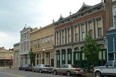 Downtown New Harmony, Indiana