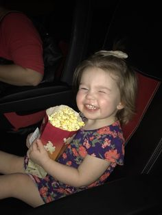 We took my daughter to see her first movie today! #daddy #love #family #dad #daughter #baby