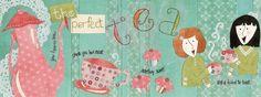 The Perfect Tea by Kristine Castro via They Draw