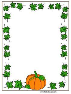 Cornicetta Autunno - Zucca con foglie