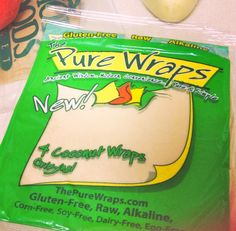 paleo wraps made from coconut meat.....LOVE these for enchiladas. Even Luke is game!