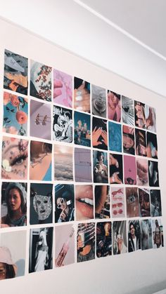 room makeover pink me;) - room makeover pink me; Collage Mural, Bedroom Wall Collage, Photo Wall Collage, Wall Collage Decor, Canvas Collage, Canvas Art, Cute Room Ideas, Cute Room Decor, Teen Room Decor