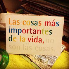 Las cosas más importantes de la vida Inspiration, Life, Hipster Stuff, Biblical Inspiration, Inspirational, Inhalation