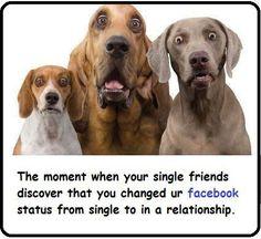 Changed Facebook Status... #LOL