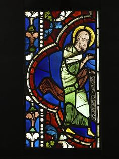 Prophet from a Tree of Jesse Object: Panel Place of origin: Champagne-Ardenne, France (made) Date: ca. 1210-1245 (made) Artist/Maker: Unknown (production) Materials and Techniques: Clear, coloured and flashed glass with painted details