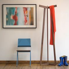 Modern Coat Rack – You need to organize your coat hanger or other to make it in good and neat place? So this modern coat rack can be your best choice, Modern Home Furniture, Furniture Design, Simple Furniture, Metal Furniture, Vintage Coat Rack, Standing Coat Rack, Wardrobe Furniture, Wall Mounted Coat Rack, Rack Design
