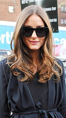 We love Olivia Palmero's loose waves.