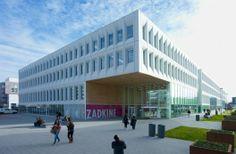 Unielocatie Zuiderpark / JHK Architecten (Rotterdam, Países Bajos) #architecture