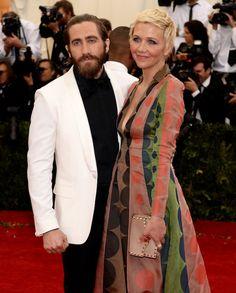 Maggie and Jake Gyllenhaal Met Gala 2014