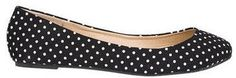 $19.50 Carrie Skimmer Black & White Dots.... So cute...
