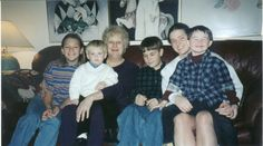 MY OMOM, AND ALL THE GRAND KIDS; MINUS SAVANNAH AND SAMMY, BECAUSETHEY WEREN'T BORN YET; AND JUSTIN WEREN'T THERE... :(