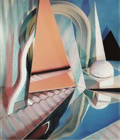 Installation by Barbara Kasten
