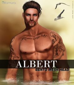 """❗❗New Release!❗❗  Altamura: """"ALBERT"""" BENTO Head @ MOM  We are very proud to be present at this round of MOM - MEN ONLY MONTHLY with this New Release!! Demo available also in Main Store and Marketplace. http://maps.secondlife.com/secondlife/Sunset%20Ambiance%20Island/34/114/22 At the end of the event you find Albert in Main Store and Marketplace: http://maps.secondlife.com/secondlife/Capodorso/225/52/26 marketplace.secondlife.com/stores/173348   Features: Omega compatible. All bodies by other…"""