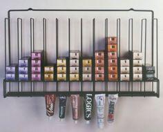 Tube Color Storage Rack Salon Interiors, Inc.,http://www.amazon.com/dp/B00B2QFOGG/ref=cm_sw_r_pi_dp_Y1kotb1JJPFWRQJD