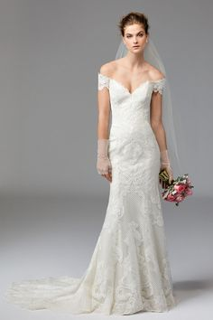 Watters WTOO Alma #1013B. Find this dress at Janene's Bridal Boutique located in Alameda, Ca. Contact us at (510)217-8076 or email us info@janenesbridal.com for more information.