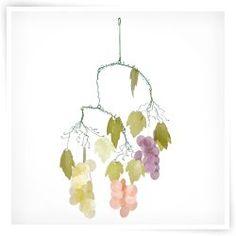 Asli Arts Grapes Capiz 21-Inch Wind Chime  http://www.windchime.com/wind-chimes/112+106+4294367291.cfm