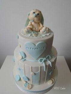 Christening cake by MOLI Cakes