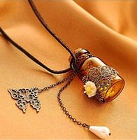 hot sale essential oil bottle necklace