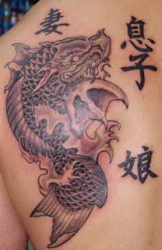 koi dragon by MorbidGuy on deviantART