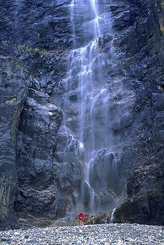 Runoff from Stanley Glacier, Kootenay National Park**Photo pinned by Western Sage and KB Honey (aka Kidd Bros)