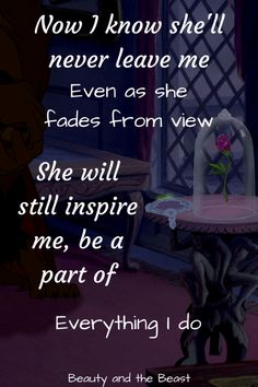 Beauty and the Beast quotes - Disney in your Day
