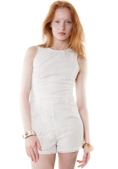 MOTEL LOLA PLAYSUIT IN SUNFLOWER LACE | HAKKA FASHION | http://www.hakkafashion.com/jumpsuits-playsuits/31-lola-playsuit-in-sunflower-lace.html?search_query=LACE&results=30