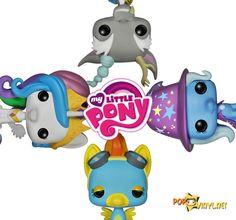 Funko POP! My Little Pony Making an Entrance  - Visit http://popvinyl.net/pop-vinyl-news/funko-pop-my-little-pony-making-an-entrance/ for more information