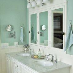 Walls in Shoji White, Trim in Worldly Gray, Kitchen Cabinets in ...
