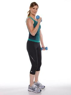 4 Easy Arm Exercises - Work your upper body with these simple strengthening moves. In addition to toning your arms, they'll also build muscles in your shoulders, back, and chest. Aim to do this routine two times a week.  prettywithpcos.wordpress.com